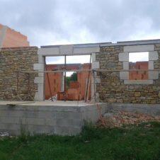 Maçonnerie Deves Frères - Extension construction 01