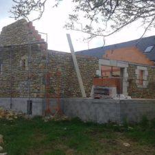 Maçonnerie Deves Frères - Extension construction 02