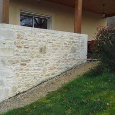 Maçonnerie Deves Frères - Rénovation muret de pierre
