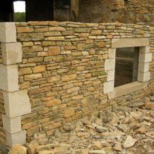 Maçonnerie Deves Frères - Mur en pierre 03