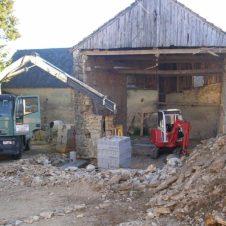 Maçonnerie Deves Frères - rénovation ancienne grange