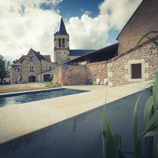 Un beau Projet : vue de la piscine à Saint Martial